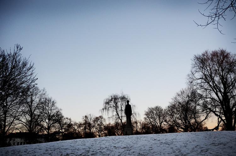 Oslo 12.01.2013. Stensparken i Oslo. FOTO: JOAKIM S. ENGER