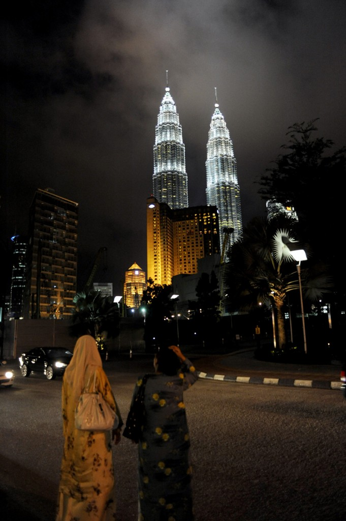 Twin towers i KL.