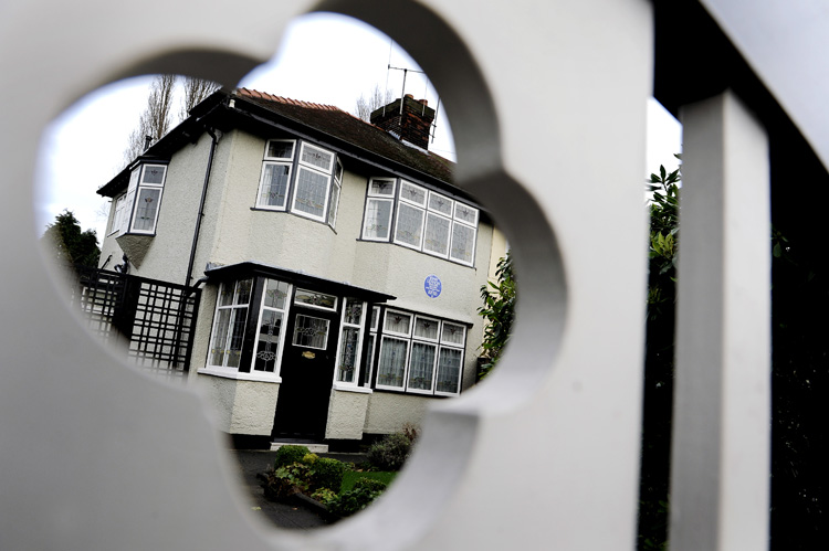 John Lennons house.