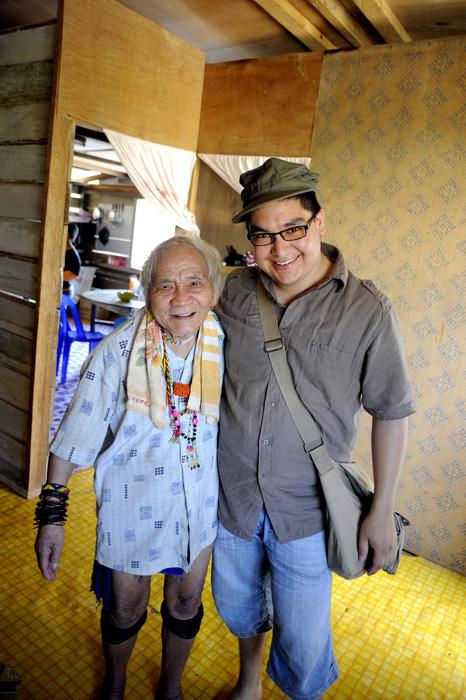 Ayat Lirong and I.