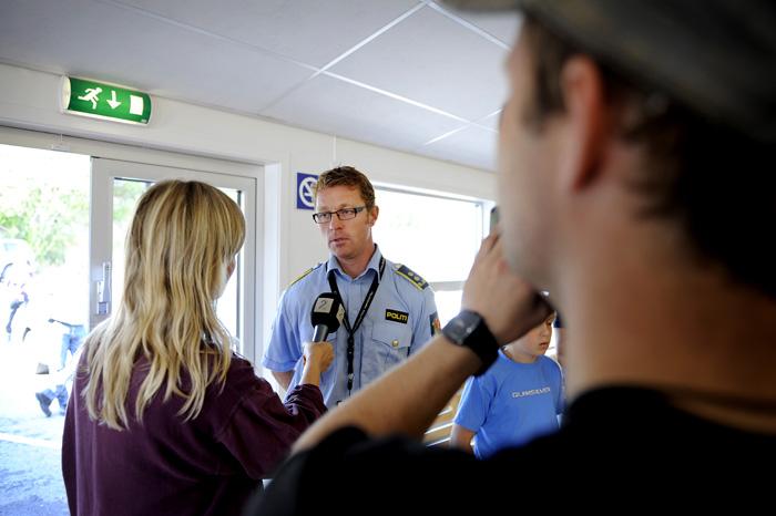 Politiadvokat i Telemark, Odd Skei Kostveit med TV2.