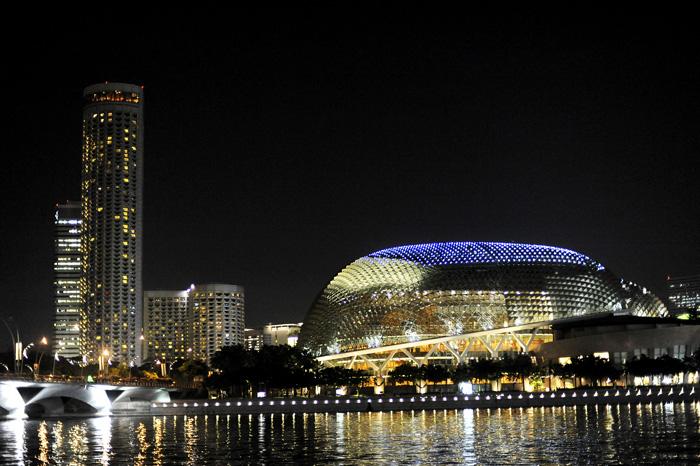 Konserthuset i Singapore.