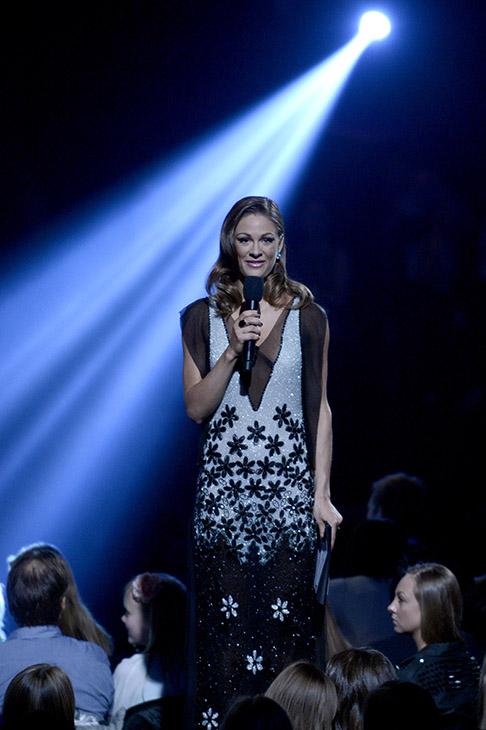 Melodi Grand Prix 2013 i Oslo Spektrum. Jenny Skavlan. FOTO: JOAKIM S. ENGER