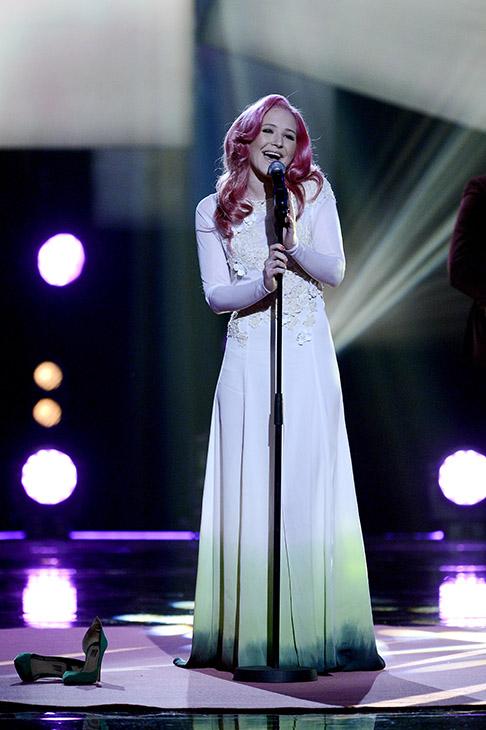 Melodi Grand Prix 2013 i Oslo Spektrum. Lucky Lips. FOTO: JOAKIM S. ENGER