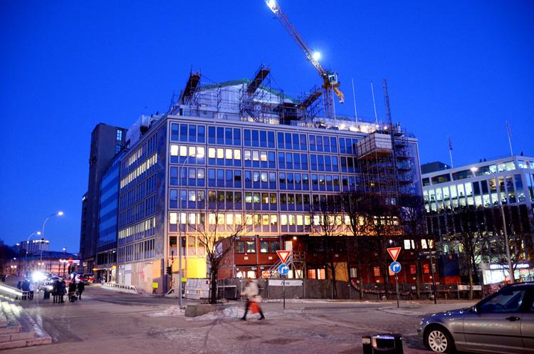 Oslo 12.01.2013. Kontorbygg i Vika. Kommunenes hus. FOTO: JOAKIM S. ENGER