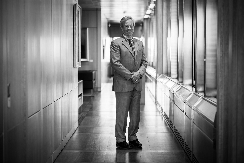 Oslo 07.06.2016. Øystein Olsen, sentralbanksjeg Norges Bank. Bilder til Min Tro. FOTO: JOAKIM S. ENGER
