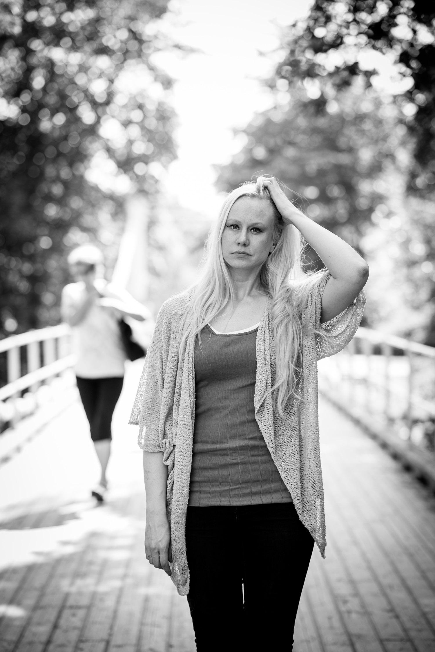 Min Tro, med musiker Susanna Wallumrød. FOTO: JOAKIM S. ENGER