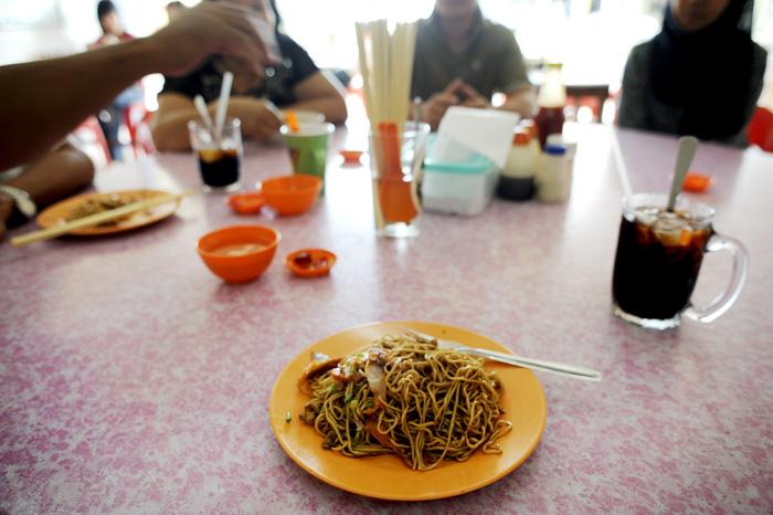 I Malaysia spiser man stort sett nudler til frokost. Helt greit, men glad for at vi ikke gjør det her i norge.